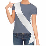 Blank White & Black Sash