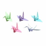10 Piece Hanging Paper Birds