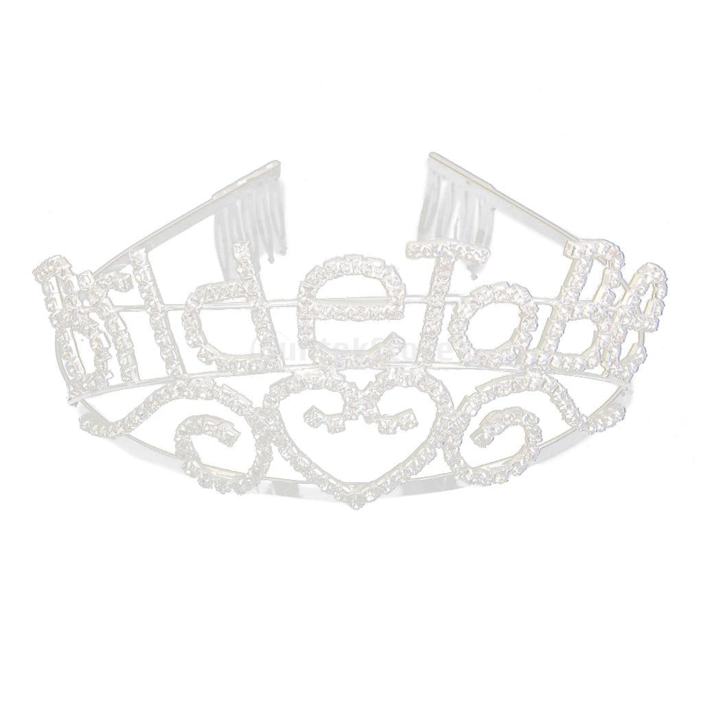 Bride to Be Heart Crown