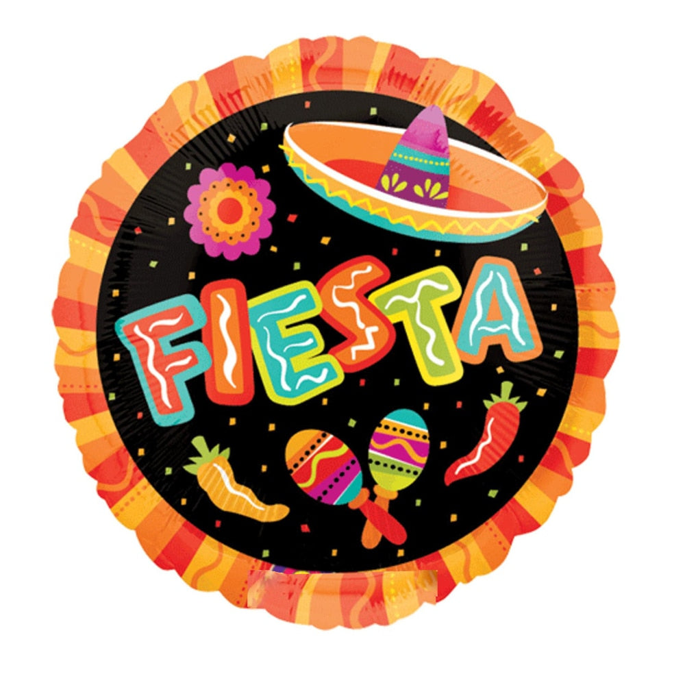 Fiesta Party Balloon
