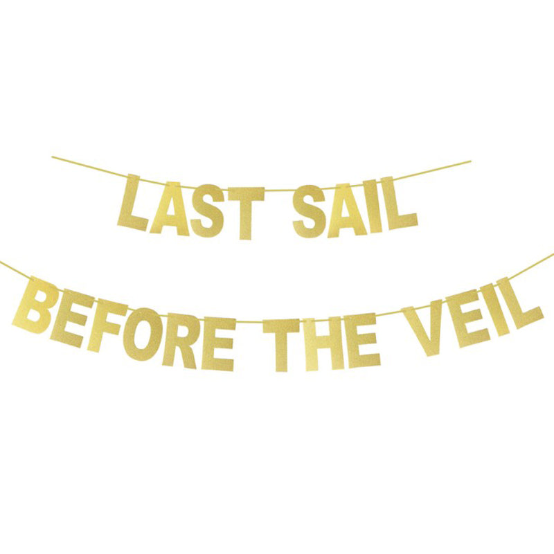 Last Sail Before the Veil Gold Banner