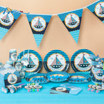 84 Piece Sailing Boat Theme Package