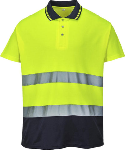 Hi Vis Cotton Polo Shirt