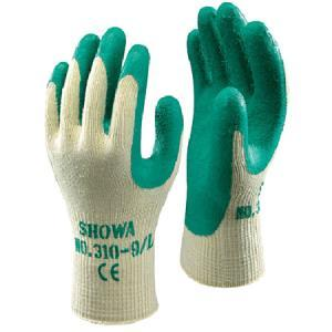 Showa 310 Cotton/Latex Grip Glove