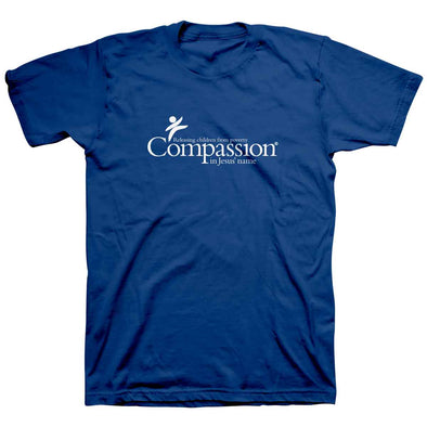 Compassion Adult T-Shirt - Compassion Logo (3 color options) Royal Blue