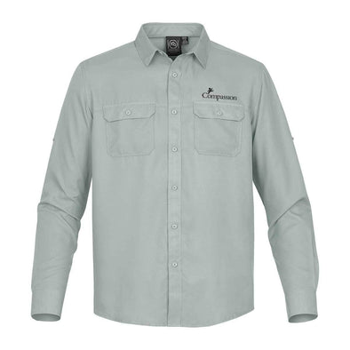 Compassion Men's Safari Long-Sleeve Shirt
