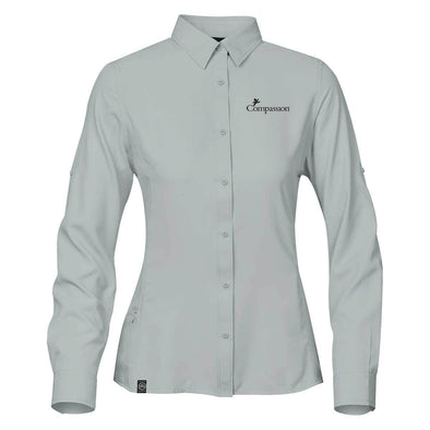 Compassion Women's Safari Long-Sleeve Shirt