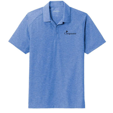 Compassion Triblend Polo Small / True Royal Heather Apparel