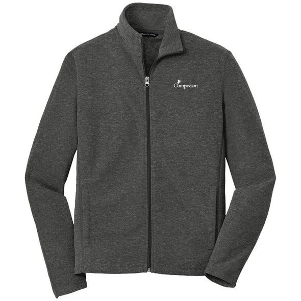 Compassion - Mens Zip Jacket Small / Black Charcoal Apparel