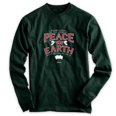 Compassion Adult LST - Peace On Earth with Logo