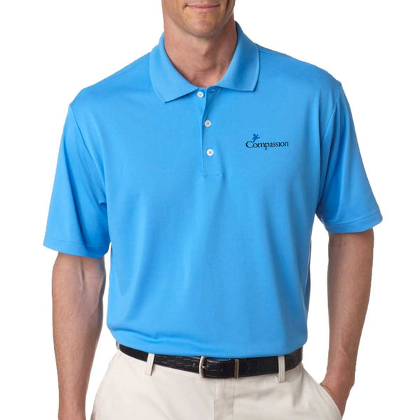 Compassion Adidas Golf Men's Climalite Pique Polo