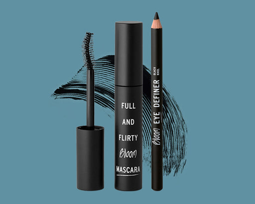 mascara and eye definer