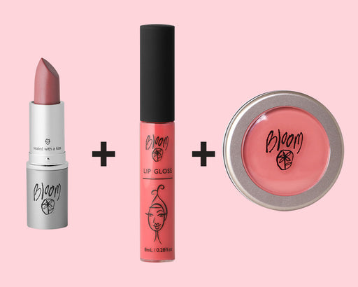 Value Pack: Lip Gloss + Lipstick + Sheer Colour Cream
