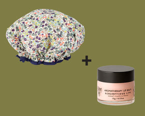 Value Pack: Shower Cap + Lip Balm