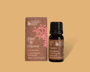 Organic Essential Oil Geranium - bloomcosmetics.com