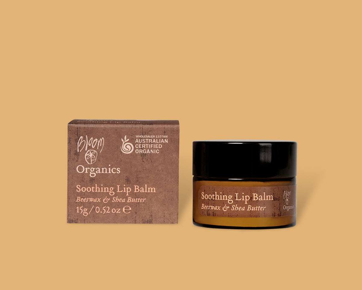 Organic Soothing Lip Balm - bloomcosmetics.com