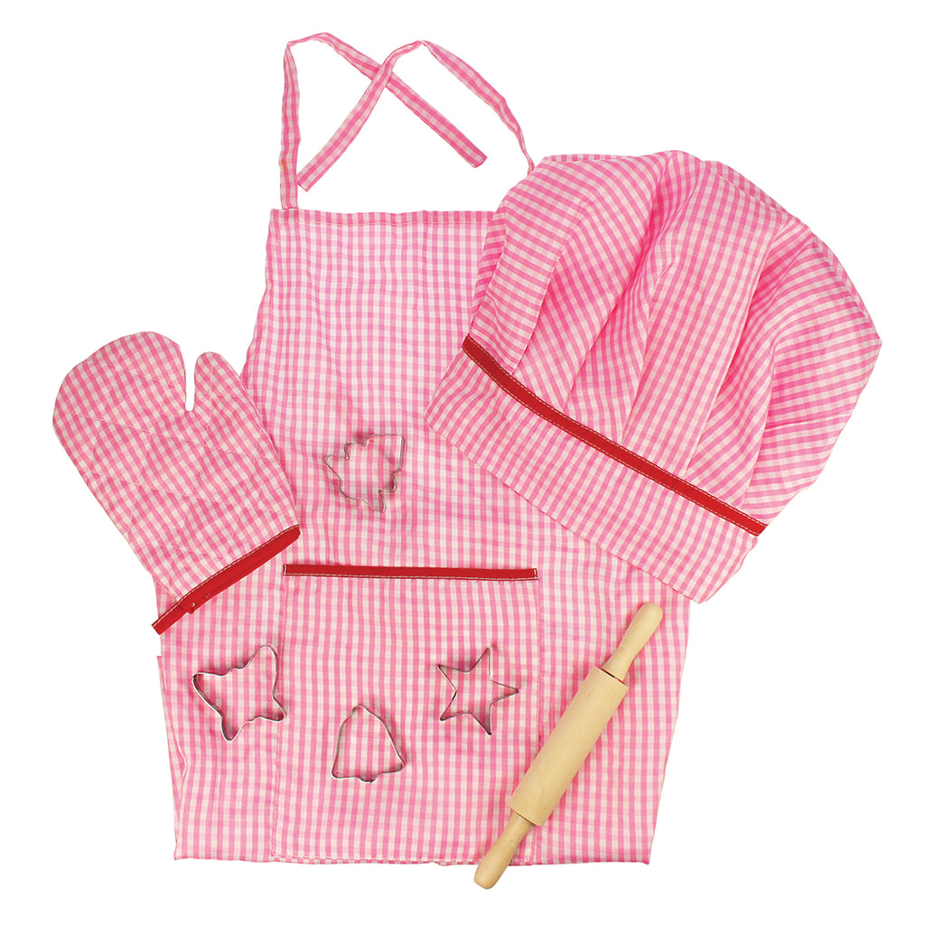 Image of Big Jigs Chef Set - Pink