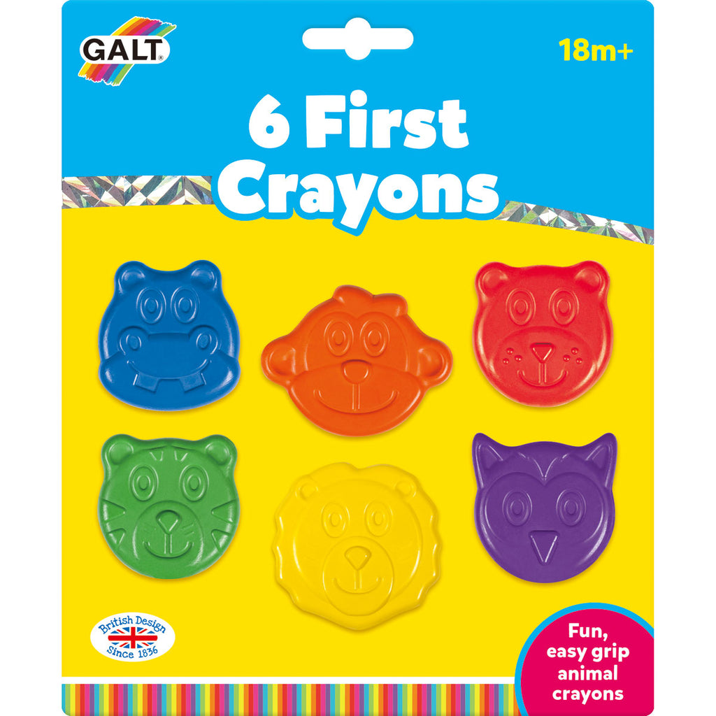 Image of Galt 6 First Crayons