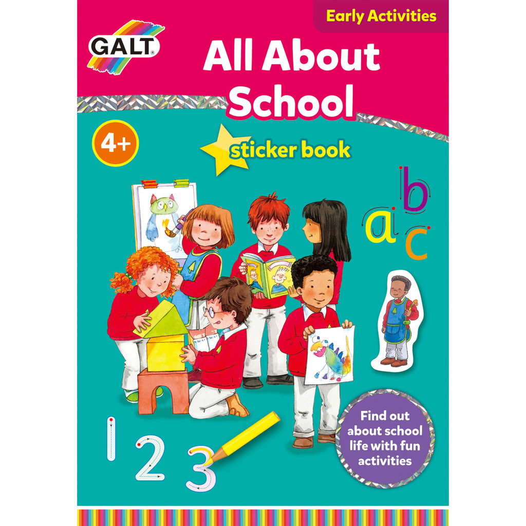 Image of Galt All About School Sticker Book