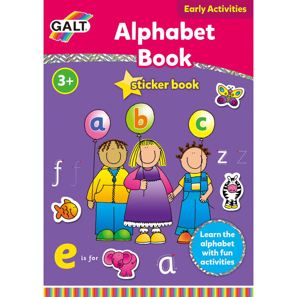 Image of Galt Alphabet Sticker Book
