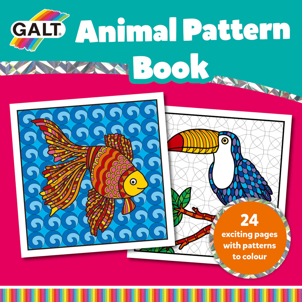 Image of Galt Animal Pattern Book