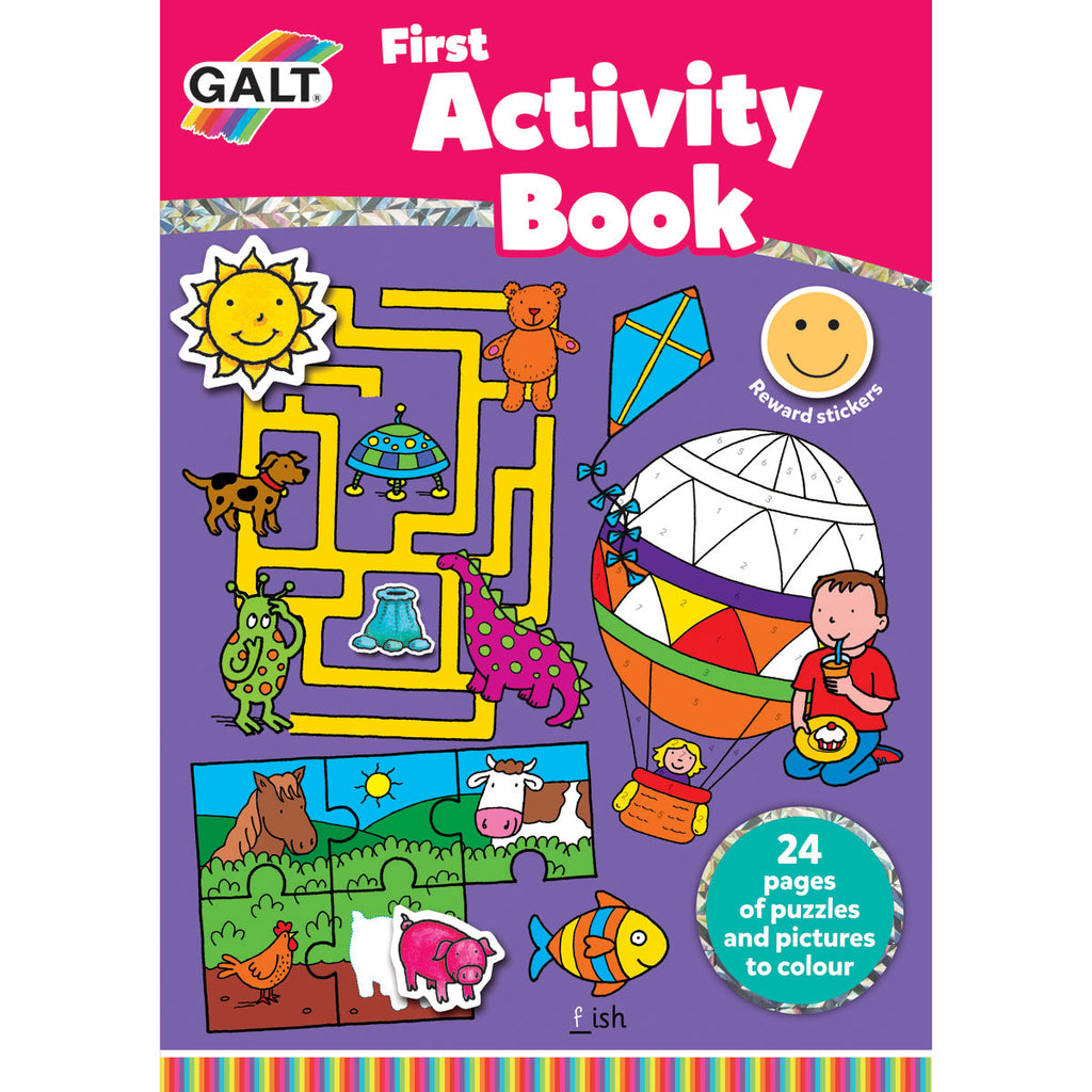 Image of Galt First Activity Book with Reward Stickers