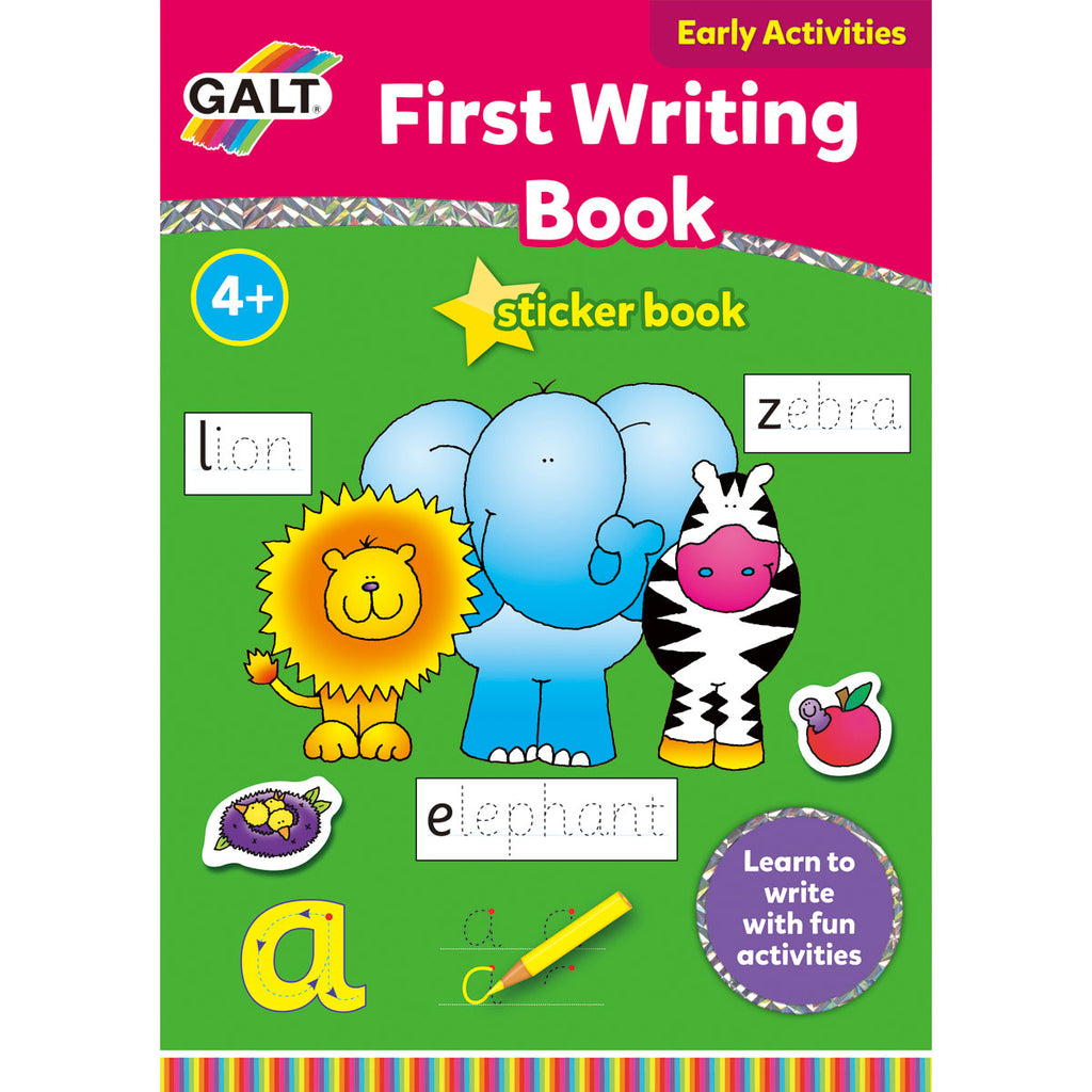Image of Galt First Writing Sticker Book