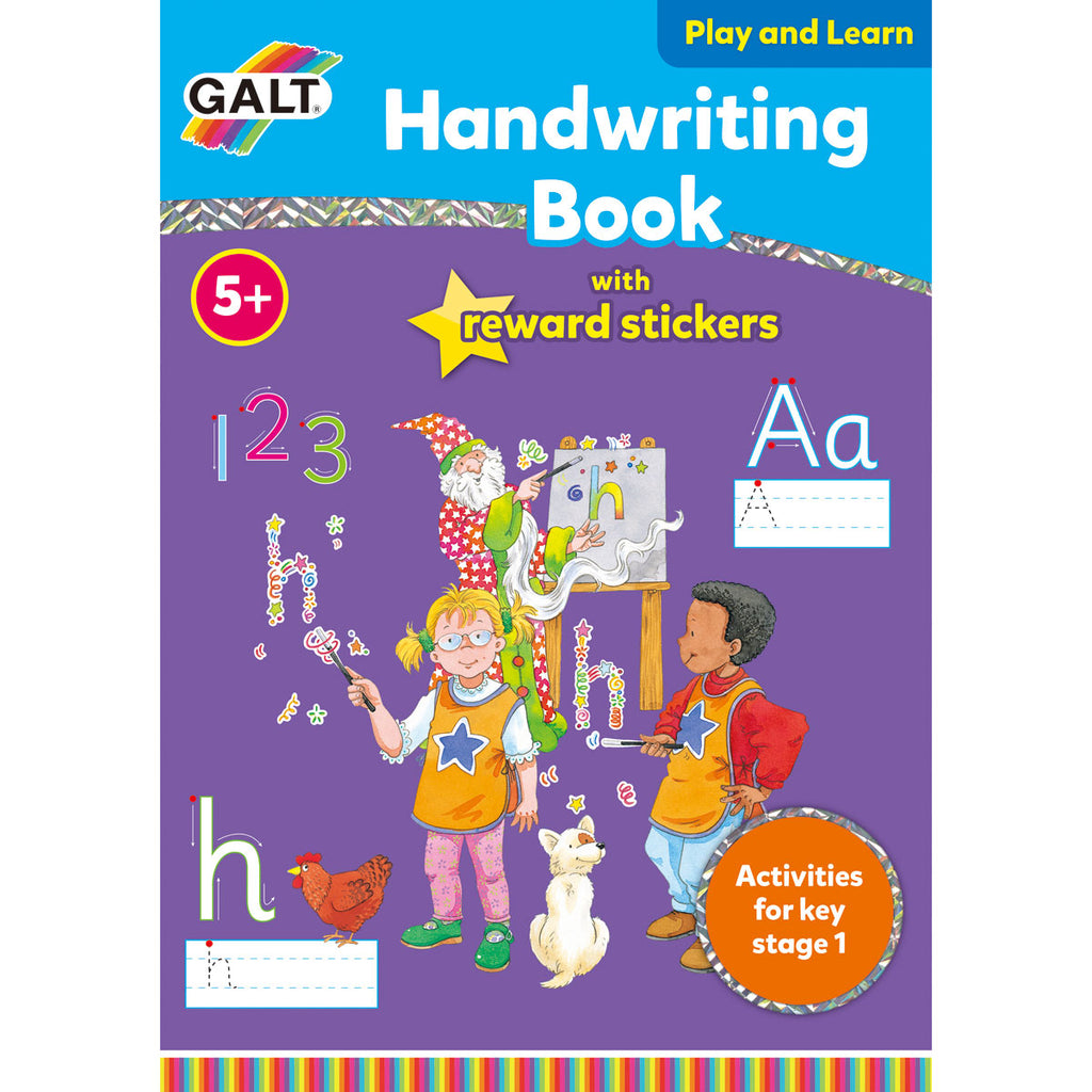 Image of Galt Handwriting Book with Reward Stickers