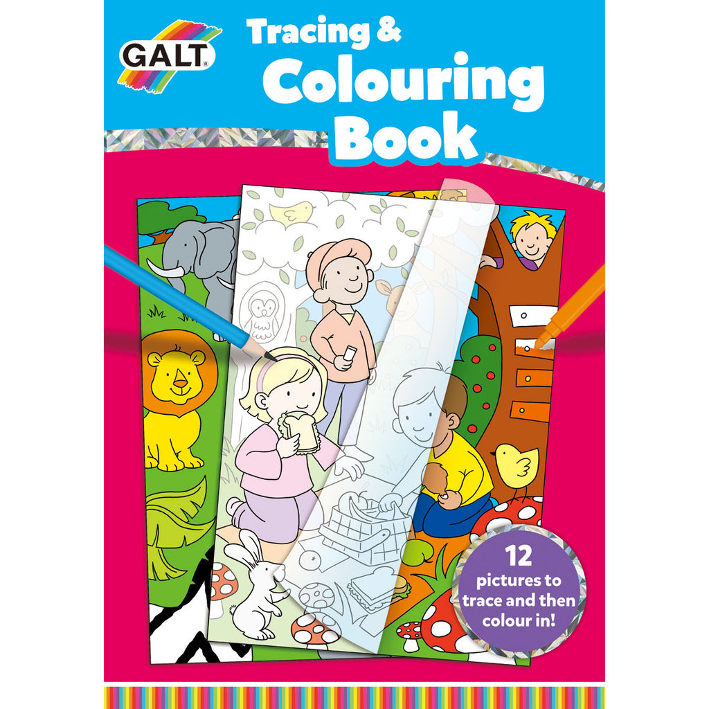 Image of Galt Tracing & Colouring Book
