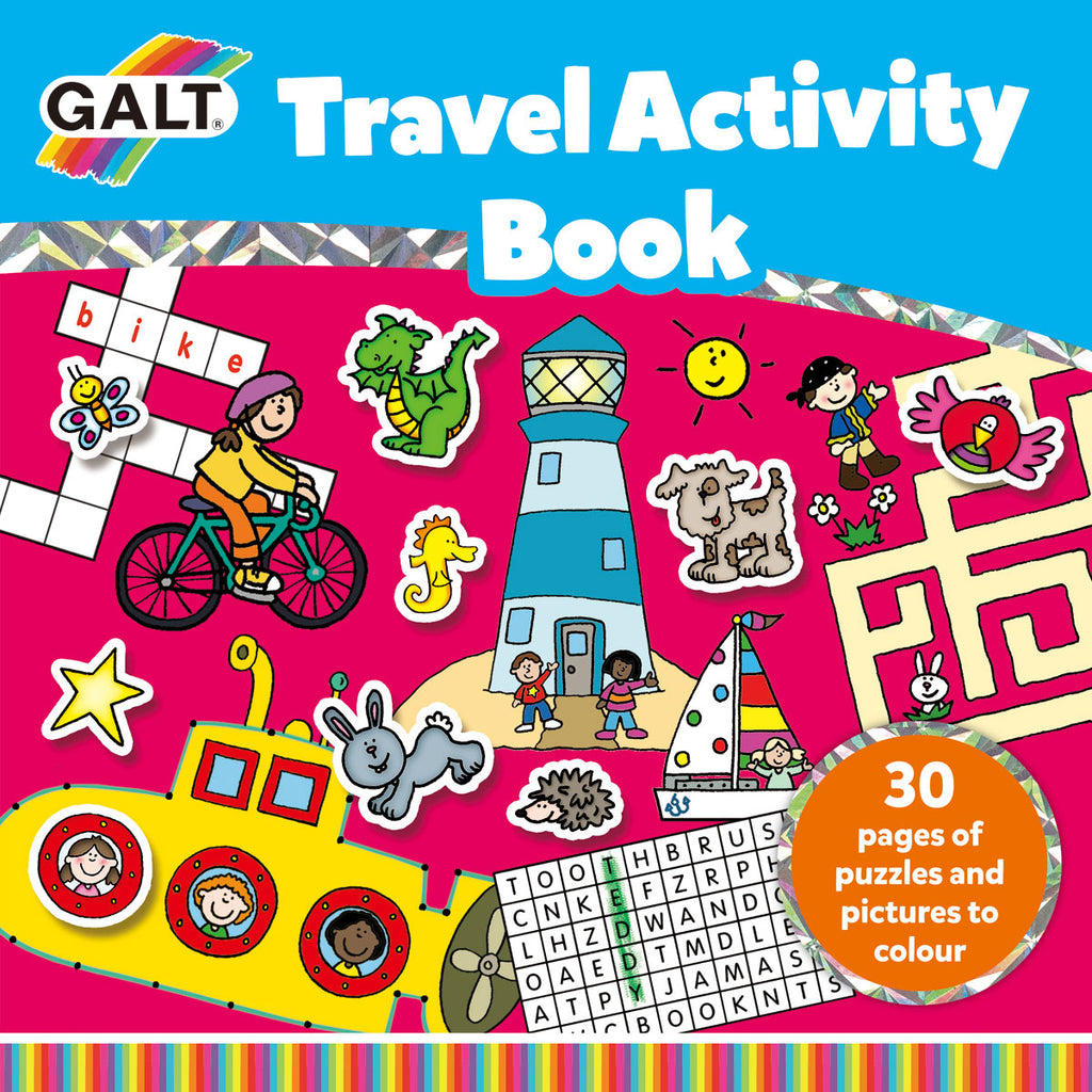 Image of Galt Travel Activity Book