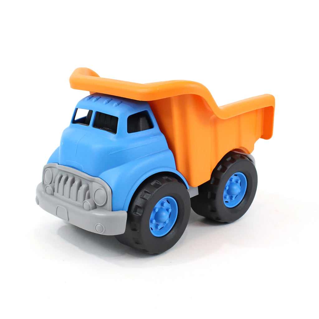 Image of Green Toys Dump Truck - Blue/Orange
