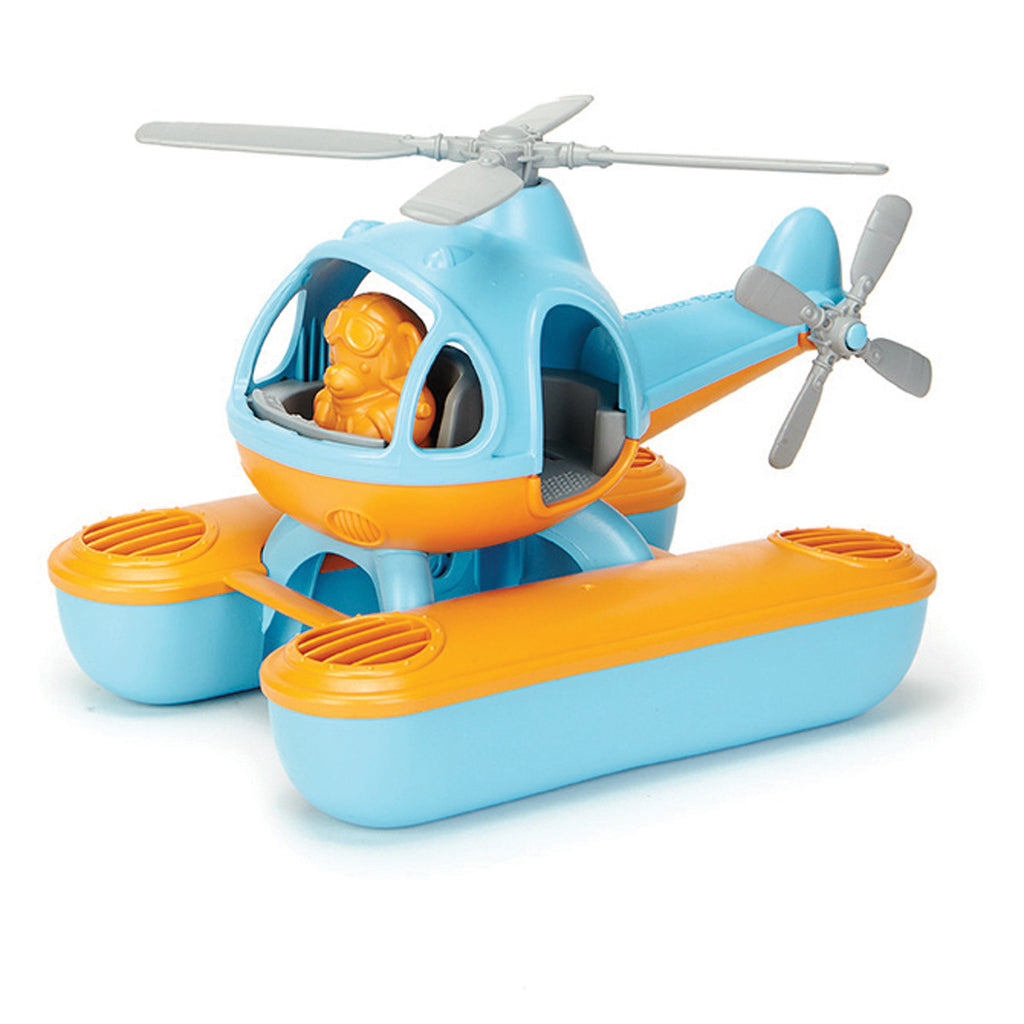 Image of Green Toys Seacopter - Blue Top