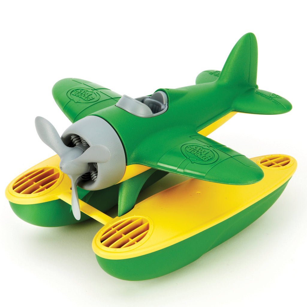 Image of Green Toys Seaplane - Green Wings
