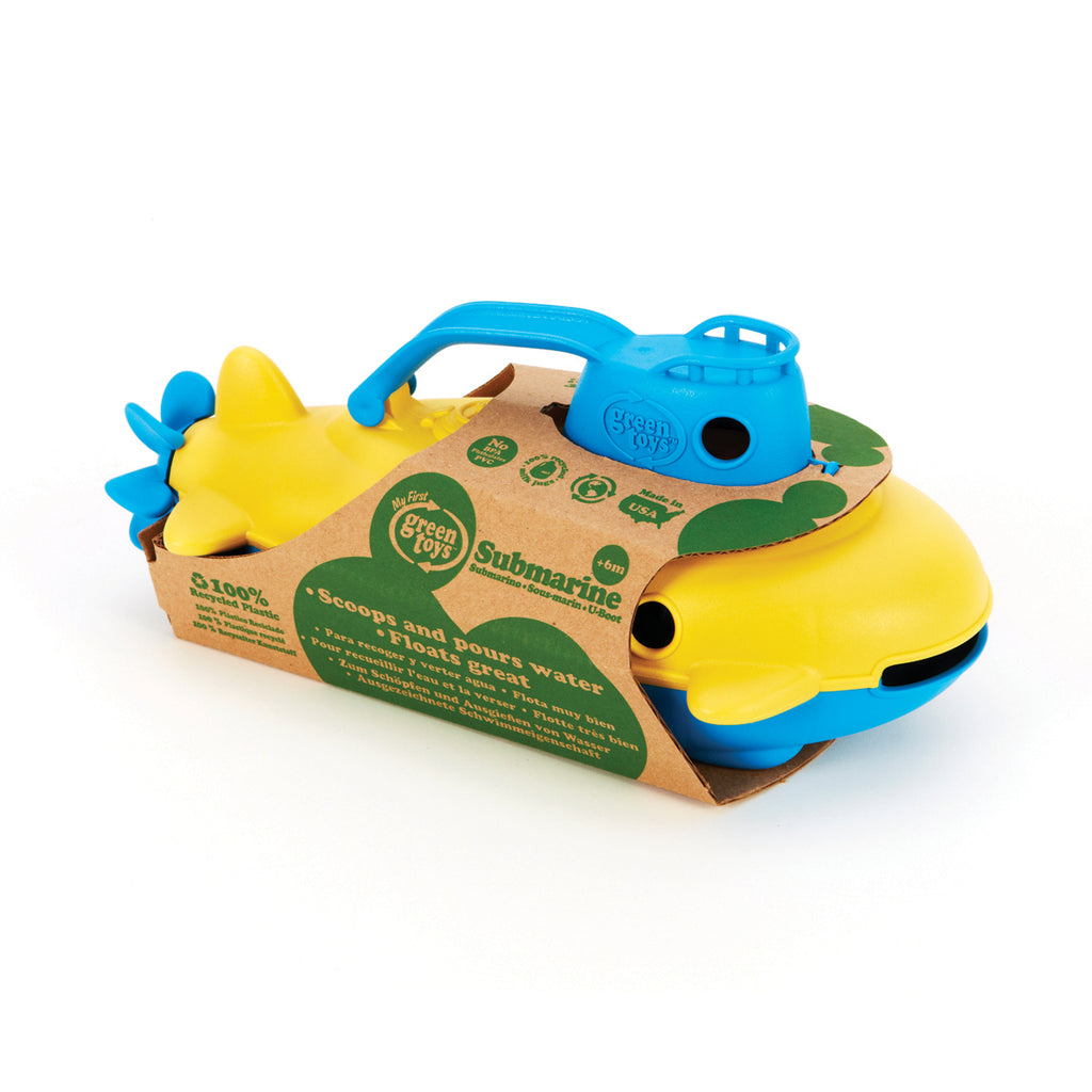 Image of Green Toys Submarine - Blue Handle