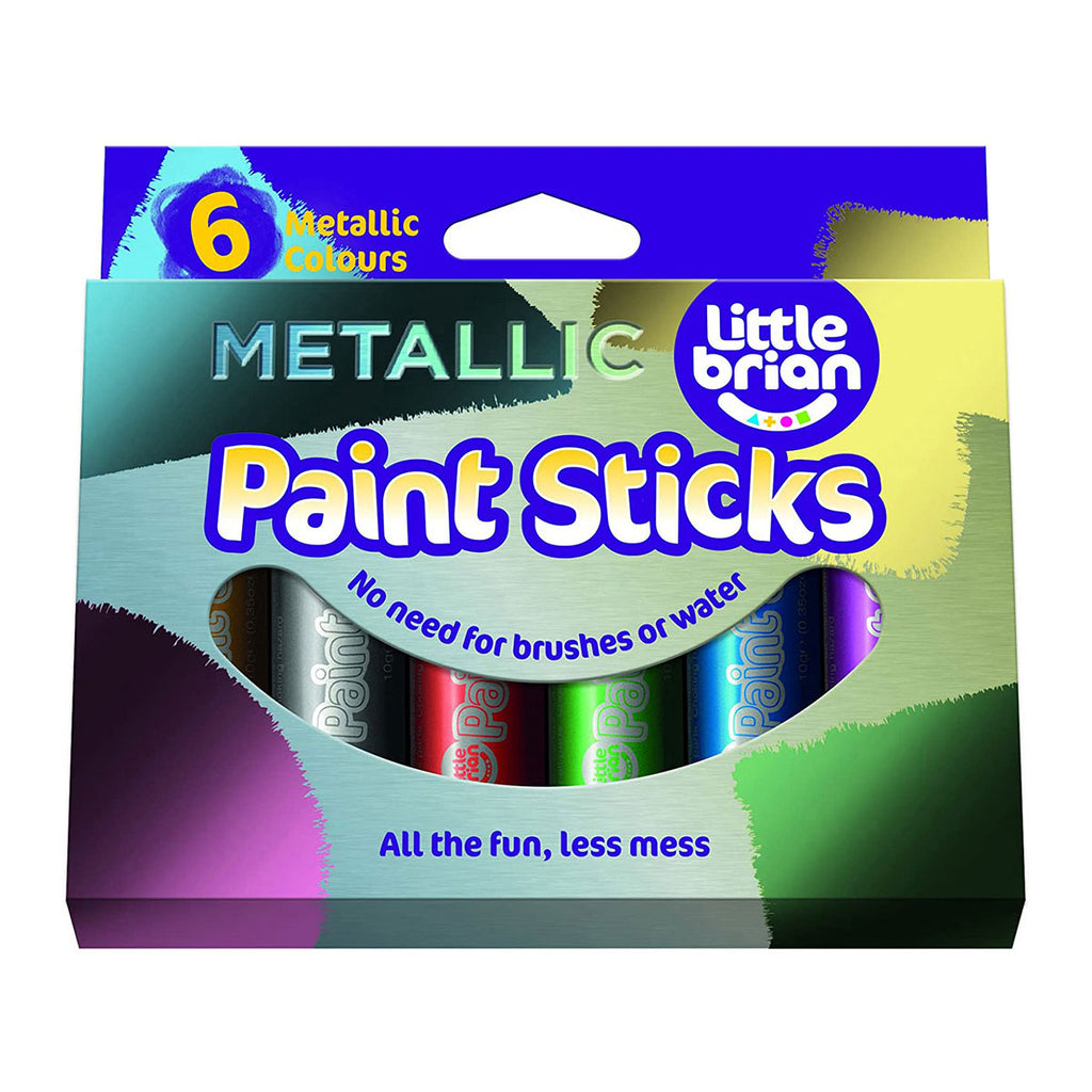 Image of Little Brian Metallic Paint Sticks - 6 Pack