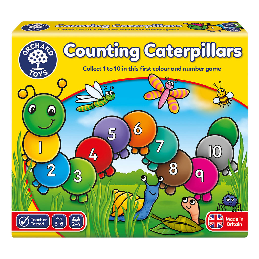Image of Orchard Toys Counting Caterpillars