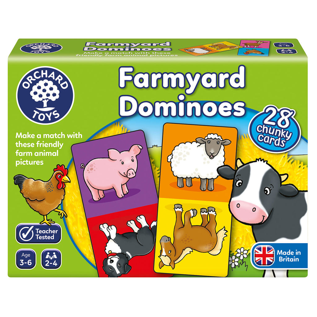 Image of Orchard Toys Farmyard Dominoes
