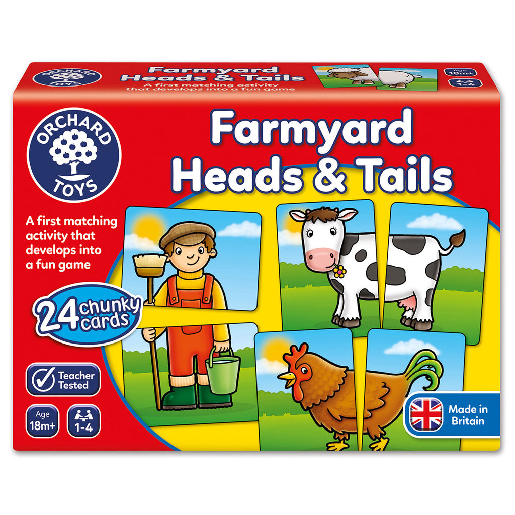 Image of Orchard Toys Farmyard Heads & Tails