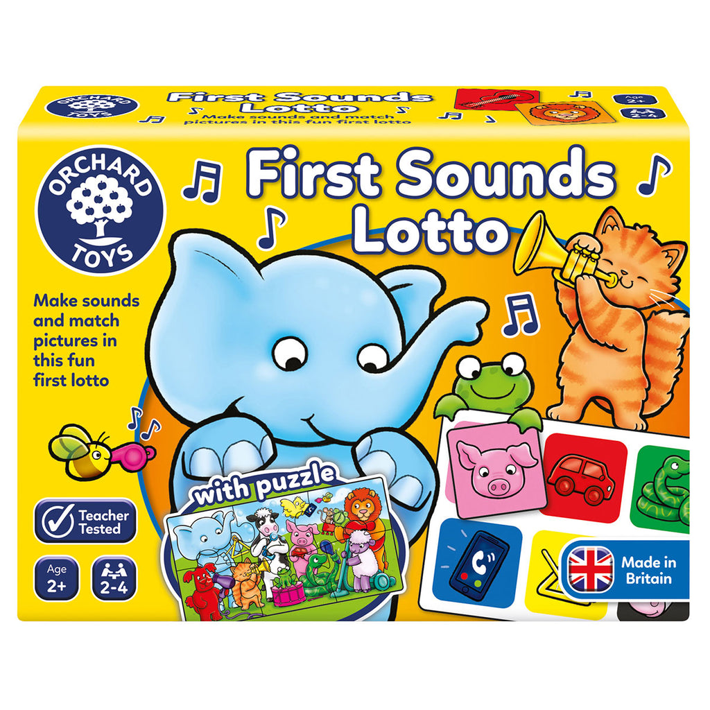 Image of Orchard Toys First Sounds Lotto