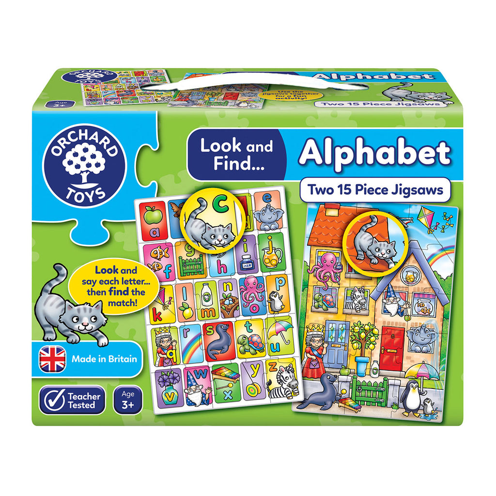 Image of Orchard Toys Look and Find Alphabet