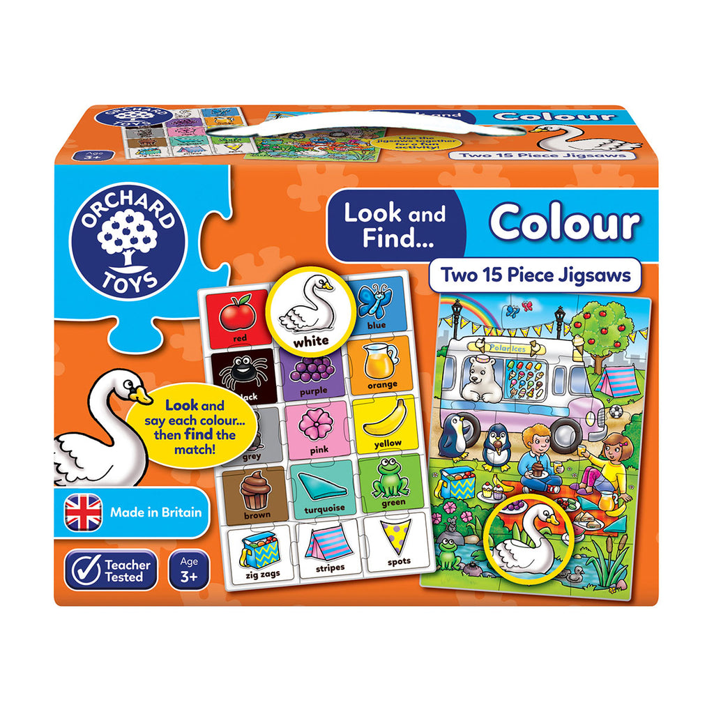 Image of Orchard Toys Look and Find Colour