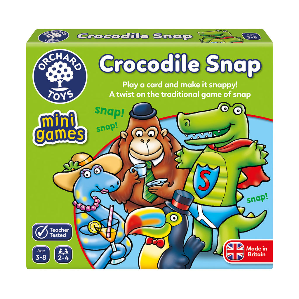 Image of Orchard Toys Mini Games Crocodile Snap