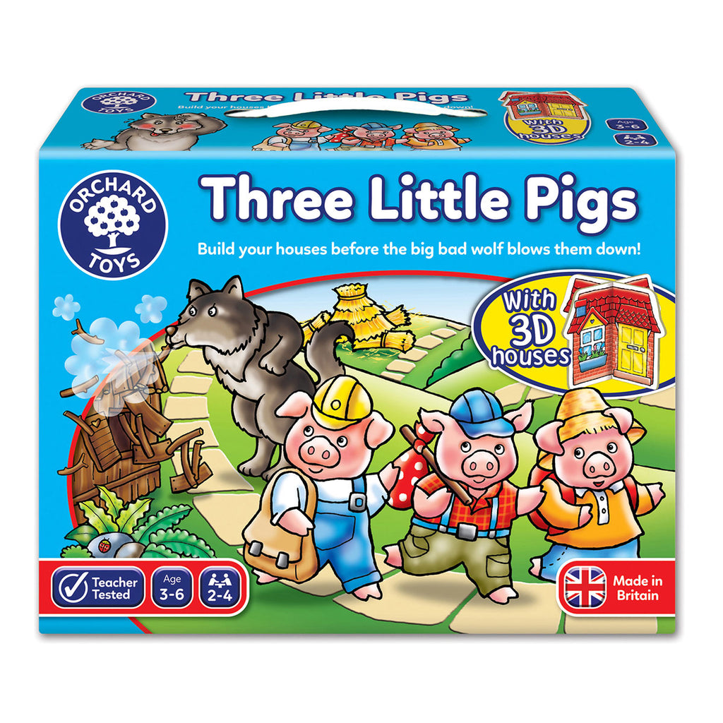 Image of Orchard Toys Three Little Pigs