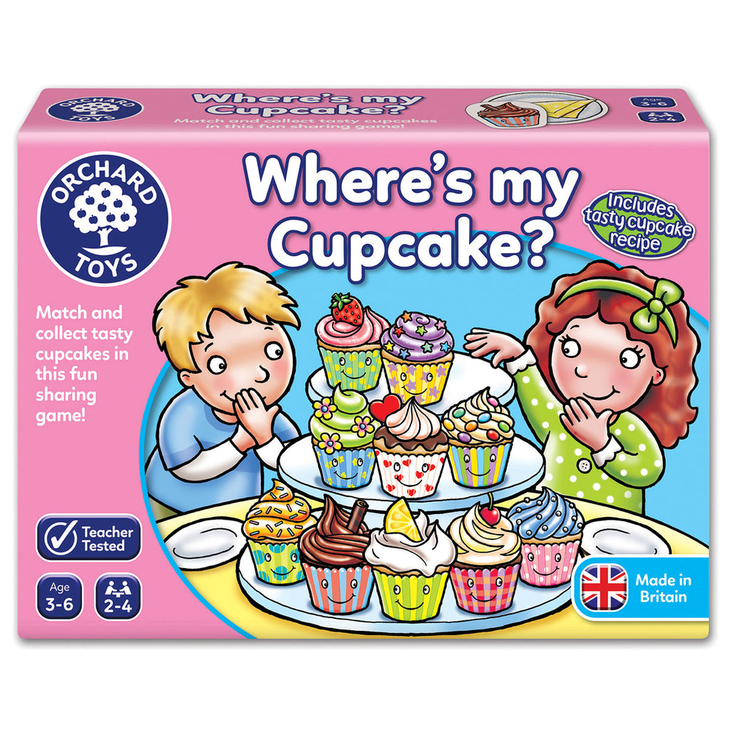 Image of Orchard Toys Where's my Cupcake?