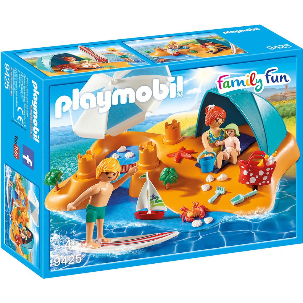 Image of Playmobil Family Beach Day 9425