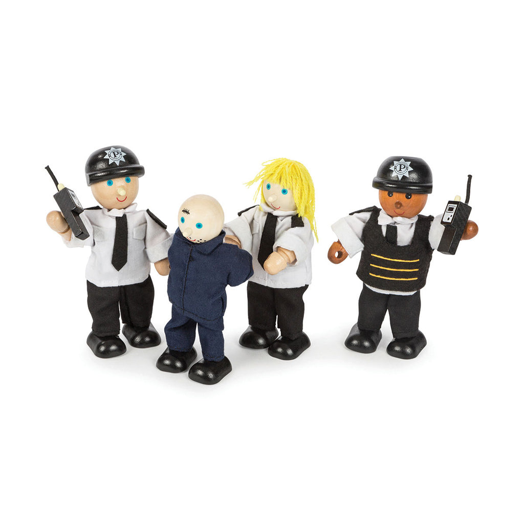 Image of Tidlo Police Officers & Prisoner Figures