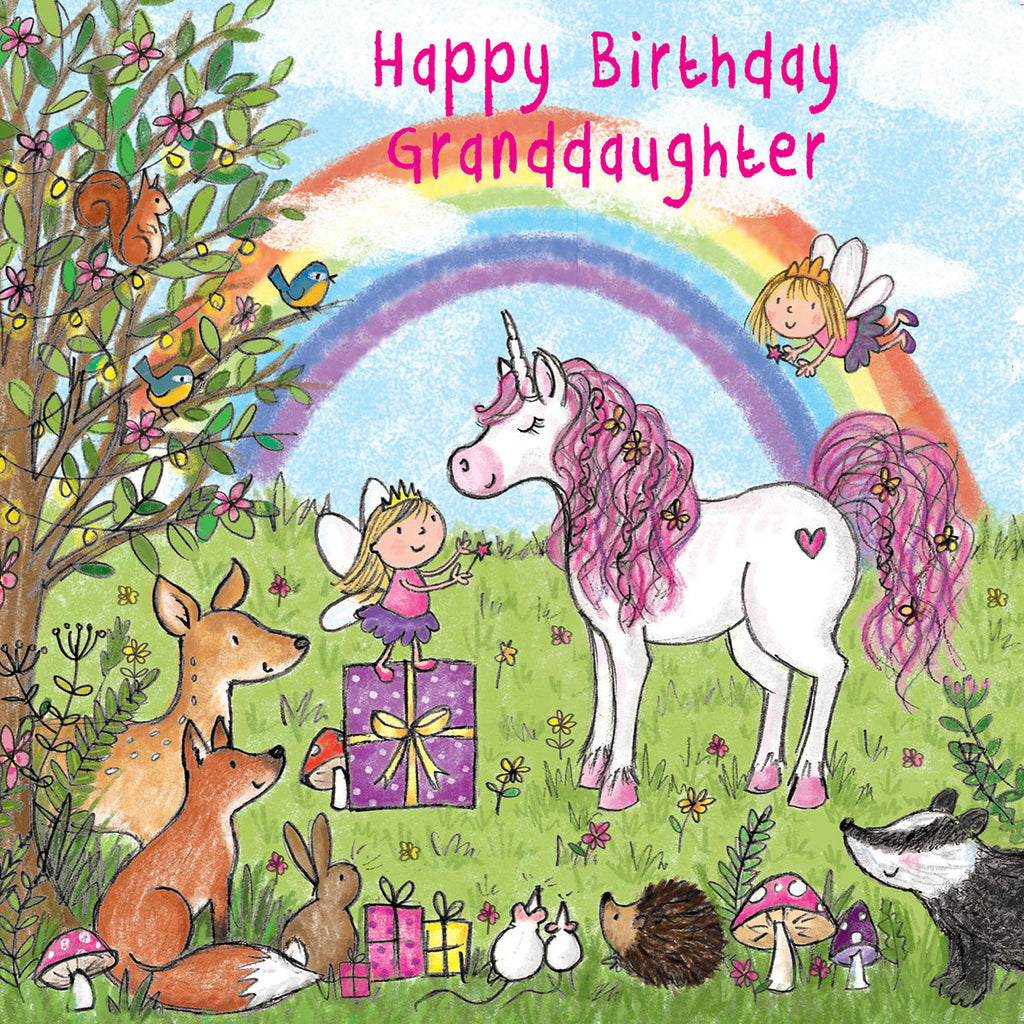 Image of Twizler Cards Maisie & Milo Happy Birthday Grandaughter