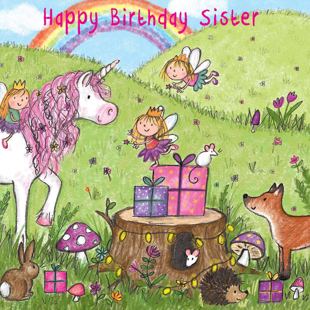 Image of Twizler Cards Maisie & Milo Happy Birthday Sister