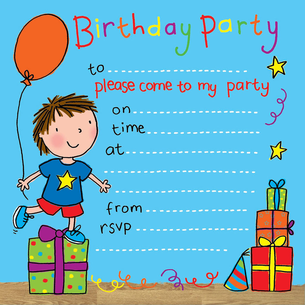 Image of Twizler Cards Party Time Invitations