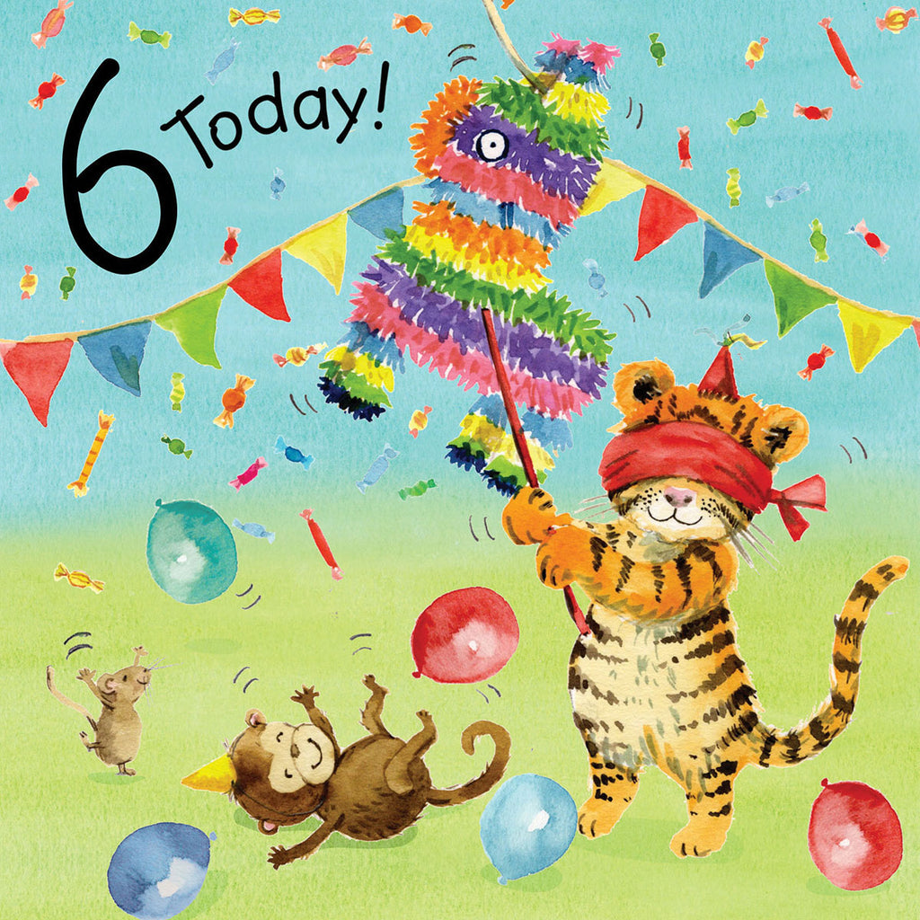 Image of Twizler Cards Tiger Tots 6 Today